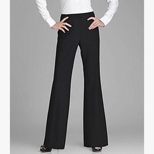 Antonio Melani Black Wide Leg Work Dress Pants